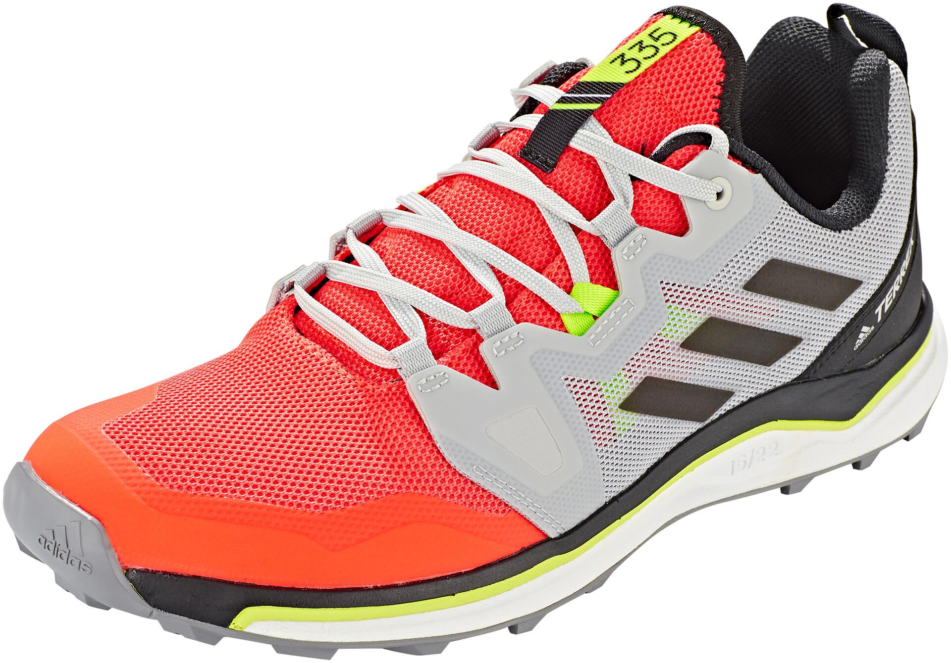 adidas TERREX Agravic Buty biegowe Mężczyźni, solar redcore blackgrey two